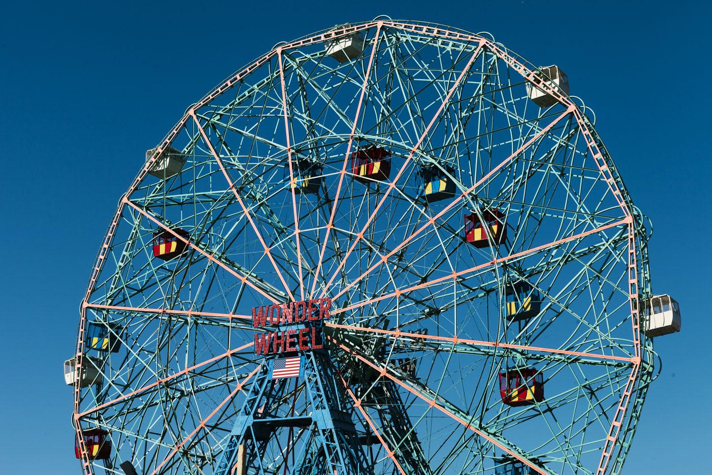 Coney Island Adam van Noort Artures Fotografie Online Galerie